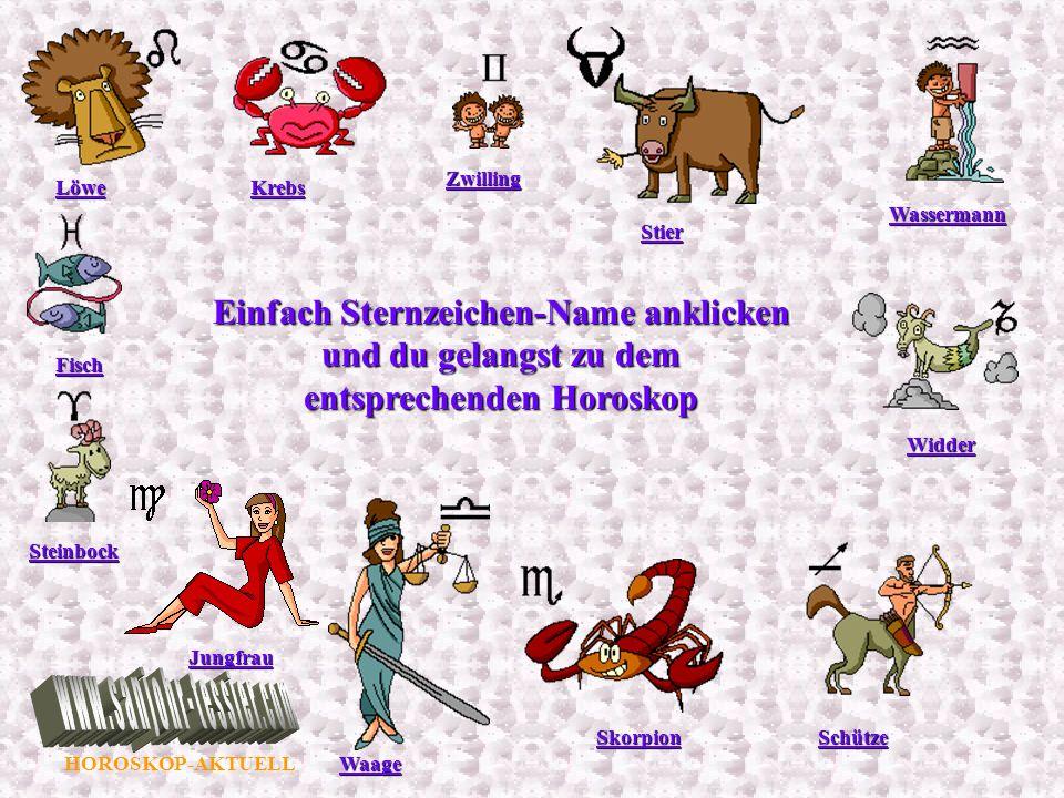 HOROSKOP-AKTUELL Wassermann 21.1.-20.2.