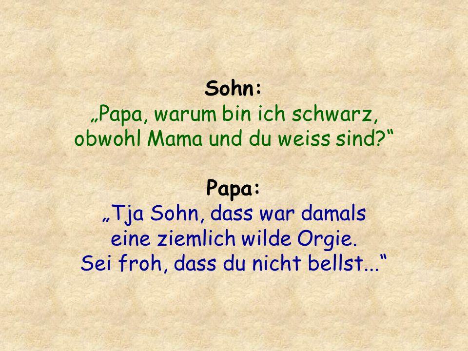 Dialog in einem Bett irgendwo in Köln: Ich liebe Dich.