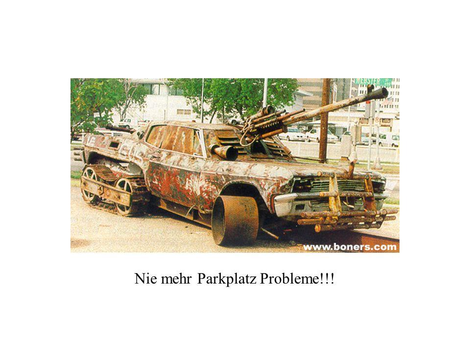 Nie mehr Parkplatz Probleme!!!