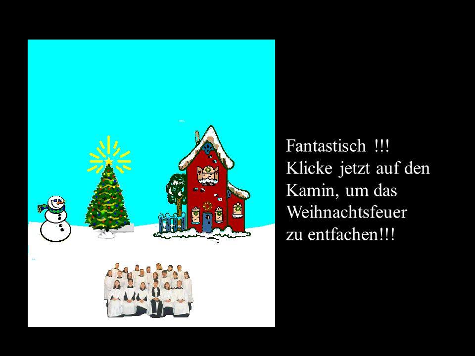 Das ist der Geist der Weihnachten… Klicke jetzt auf den Baum, um Lichter zuzufügen…