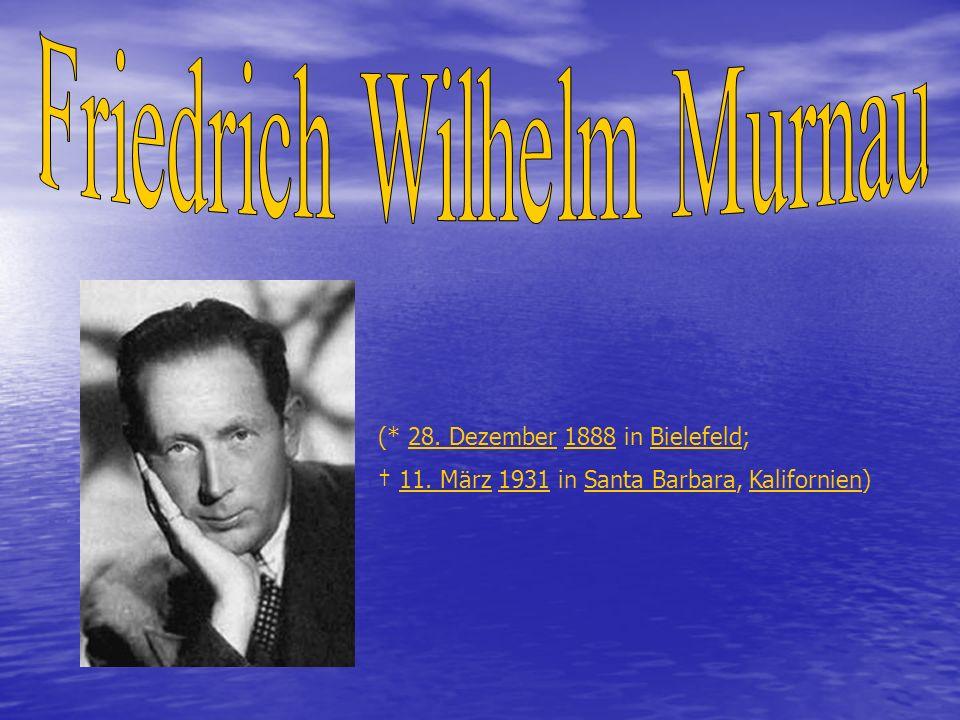 Gilt als einer der bedeutendsten deutschen Filmregisseure der Stummfilmära.