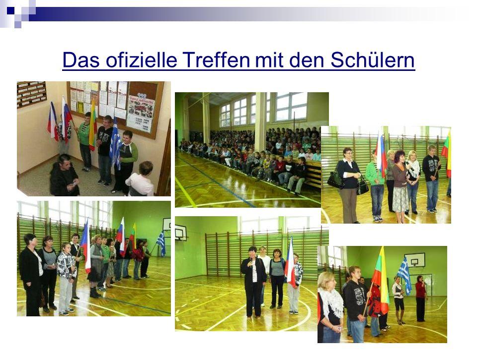 Erinnerung an den letzten Comenius Projekt Die Spielsammlung aus allen Ländern