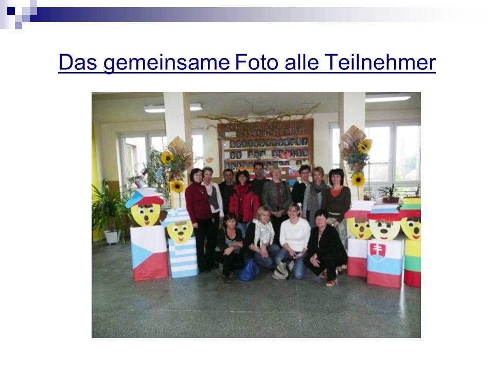 Das gemeinsame Foto alle Teilnehmer