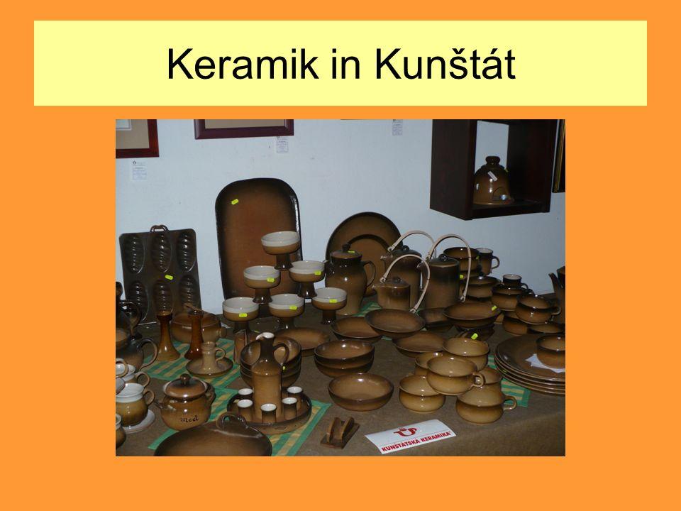 Keramik in Kunštát