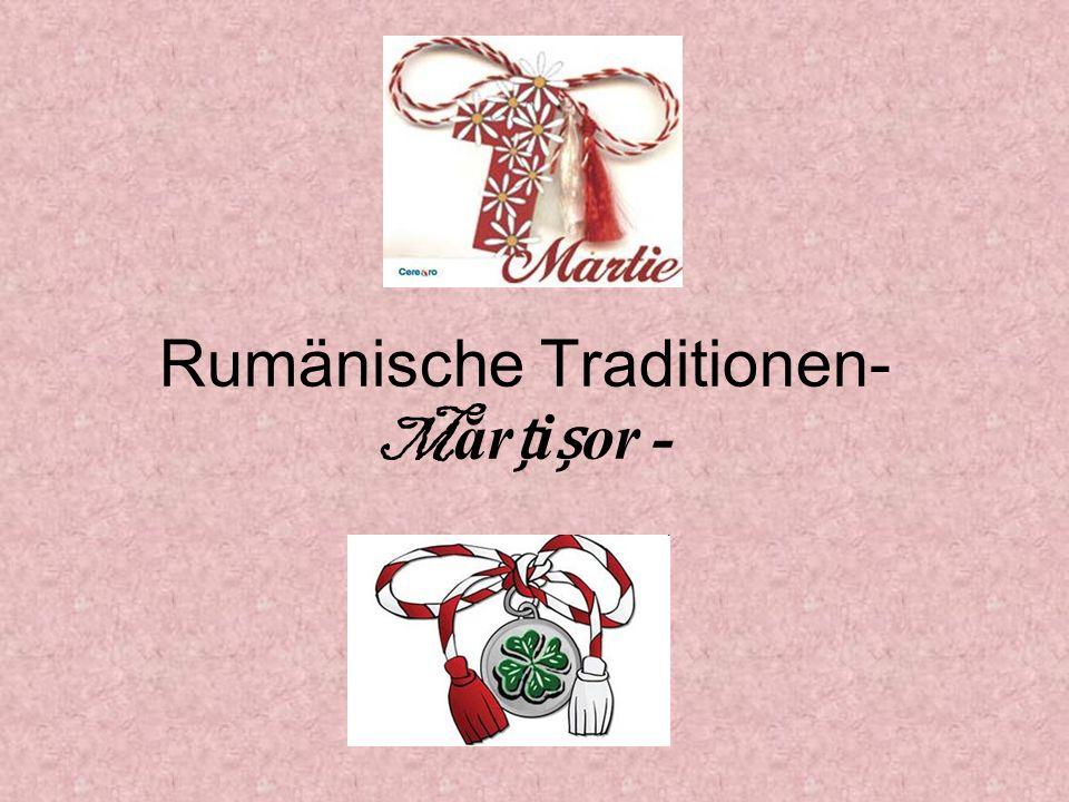 Rumänische Traditionen- M ărior -