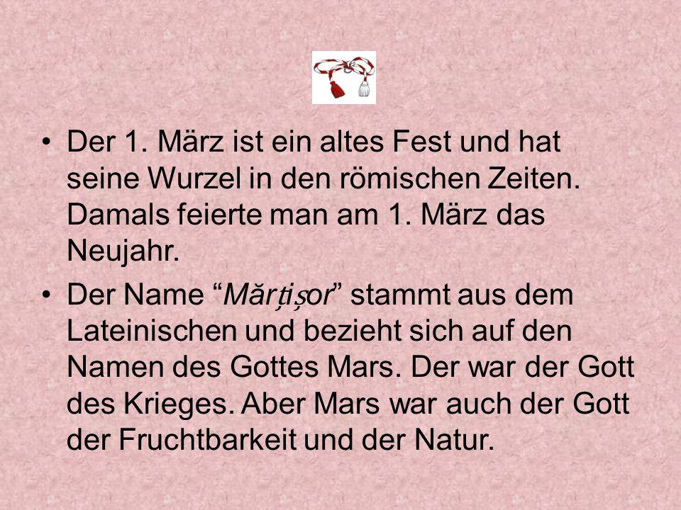 Mars schützte auch die Heirat der jungen Paare.