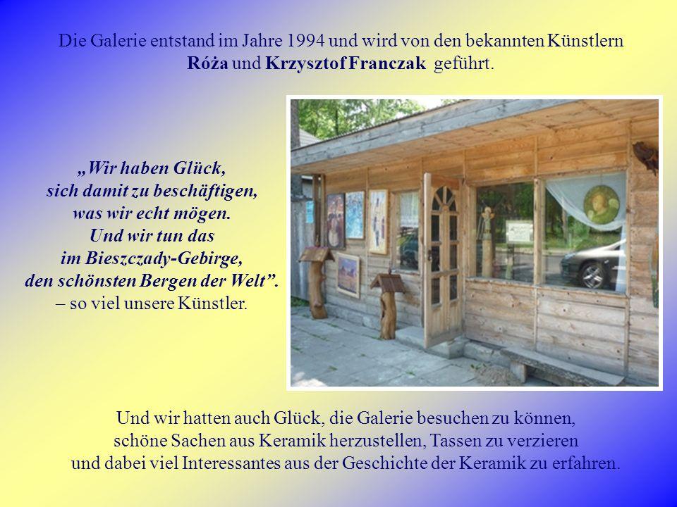Die Galerie entstand im Jahre 1994 und wird von den bekannten Künstlern Róża und Krzysztof Franczak geführt.