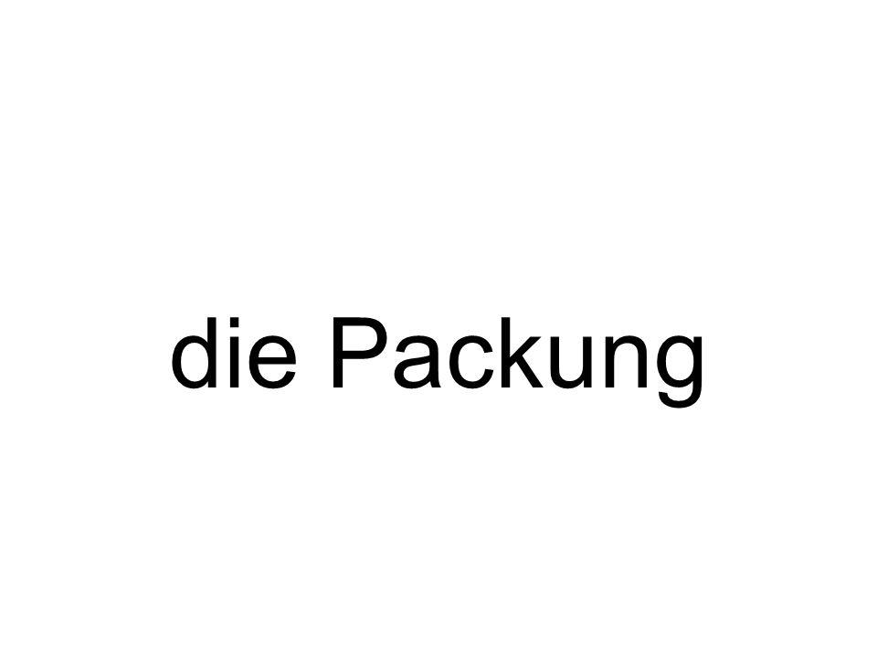 die Packung