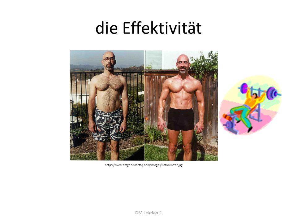 die Effektivität DM Lektion 1 http://www.dragondoorfaq.com/images/BeforeAfter.jpg