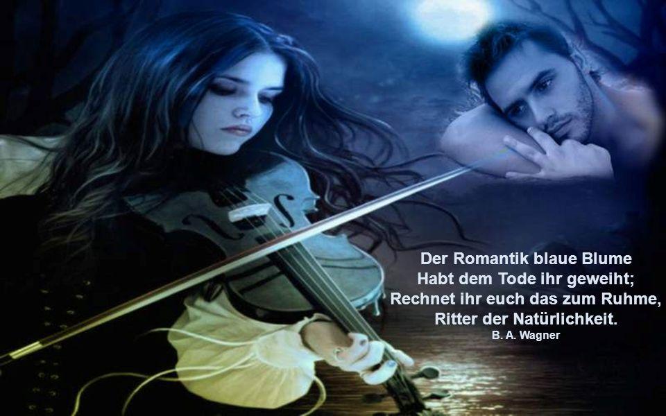 Mit Kerzen- und mit Mondenschein kauft jeder die Romantik ein. Erhard Horst Bellermann