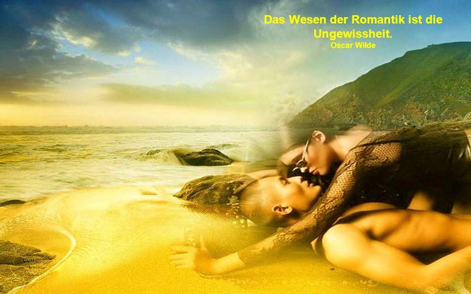 Wenn man verliebt ist, beginnt man damit, sich selbst zu täuschen, und endet damit, andere zu täuschen. Das nennt die Welt Romantik. Oscar Wilde