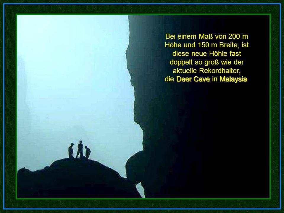 Die Wissenschaftler Howard und Deb Limbert von der britischen Höhlenforschungs- Vereinigung, führten vom 10.-14. April 2009 eine Untersuchung in Phong