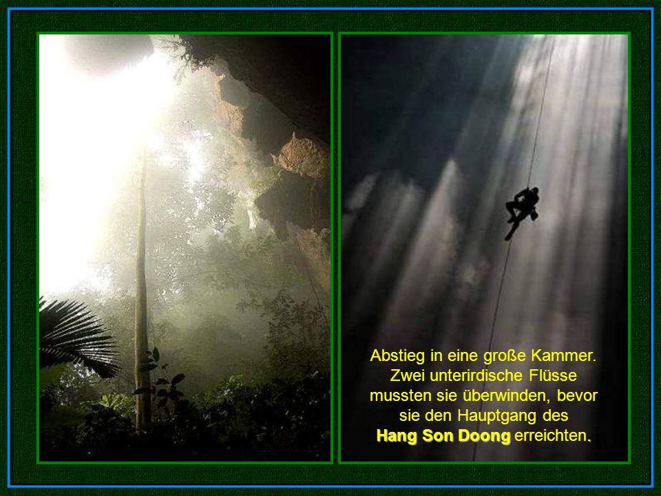 Die Höhle liegt in Vietnam, nahe der Grenze zu Laos. Die Höhle liegt in Vietnam, nahe der Grenze zu Laos.