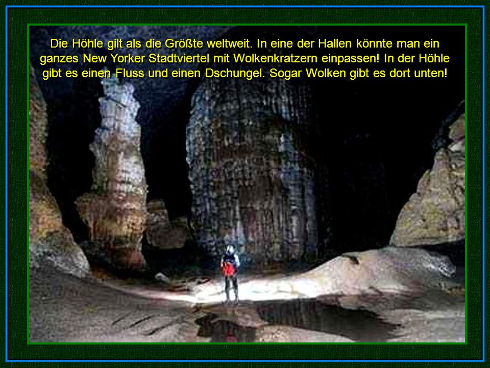 Phong Nha-Ke Bang Ho-Khanh Die Höhle im Phong Nha-Ke Bang Nationalpark wurde 1991 von Ho-Khanh entdeckt. Die Höhle im P PP Phong Nha-Ke Bang Nationalp