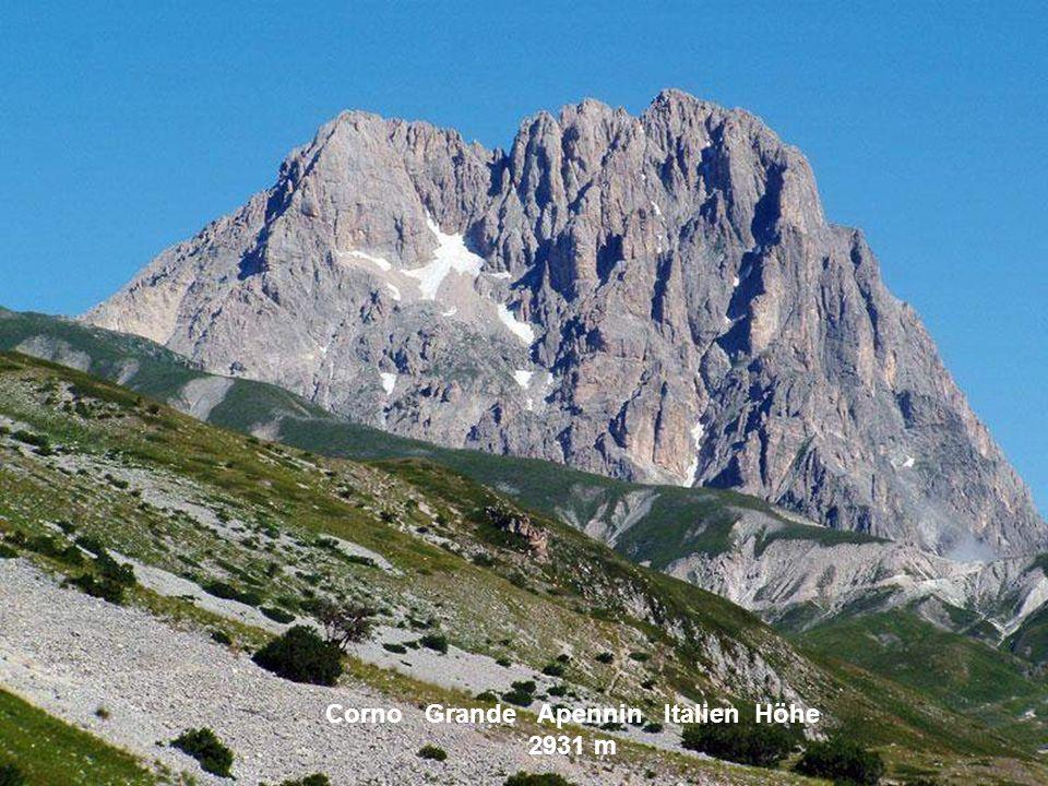 Marmolata Dolomiten Italien Höhe 3342 m