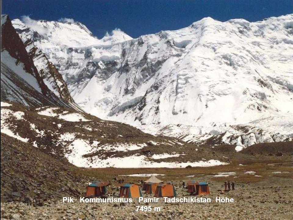 Pik Pobeda Tianshan Kirgisistan Höhe 7439 m