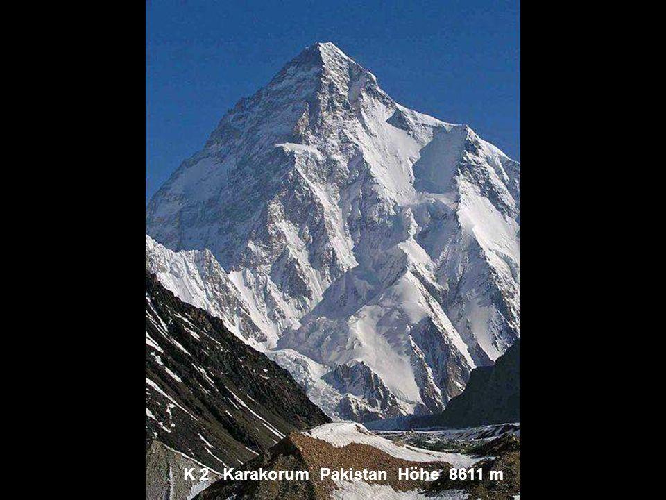 Pik Kommunismus Pamir Tadschikistan Höhe 7495 m