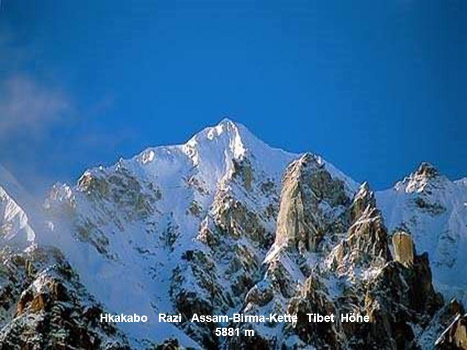 Anamudi Westghats Indien Höhe 2694 m