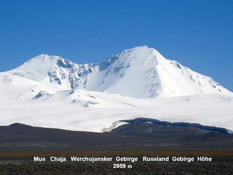 Klutschewskaja Sopka Kamtschatka Höhe 3342 m