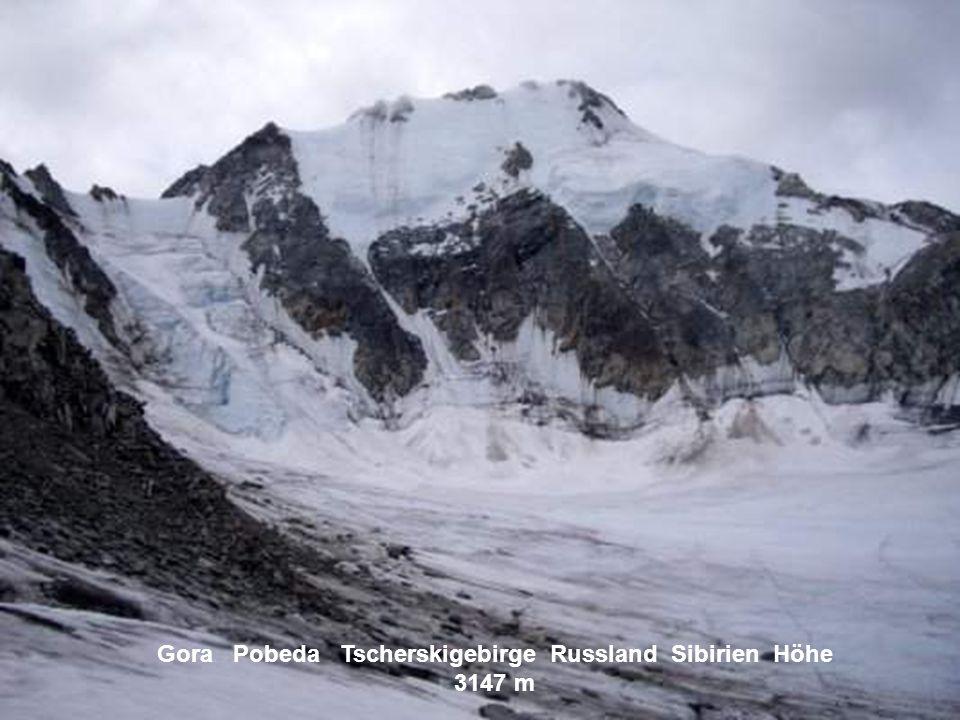 Mus Chaja Werchojansker Gebirge Russland Gebirge Höhe 2959 m