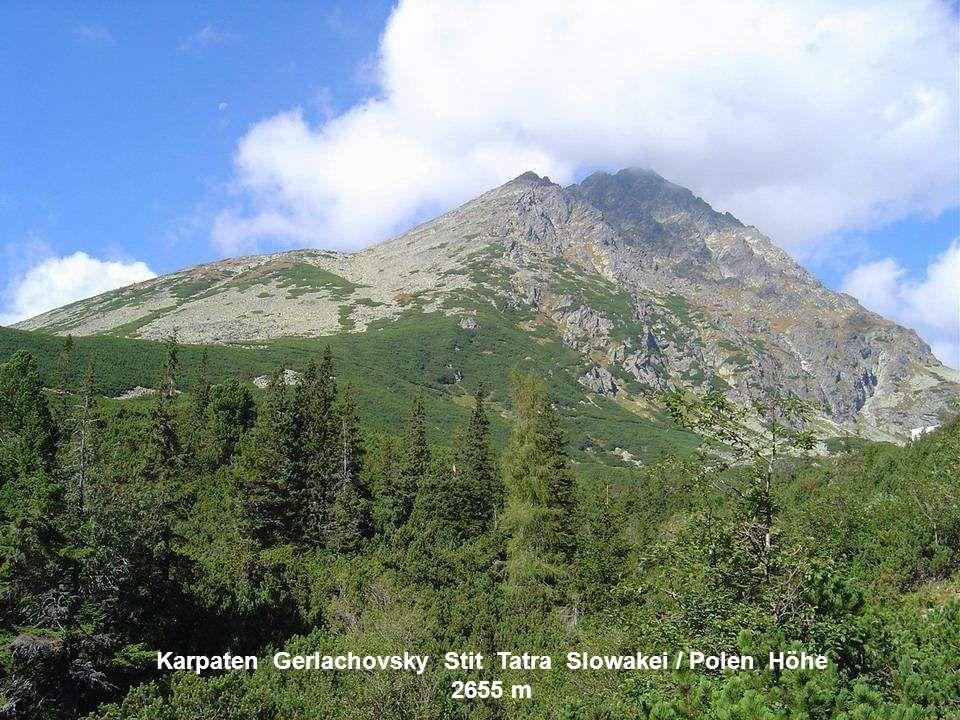 Beskiden Polen Höhe 1700 m