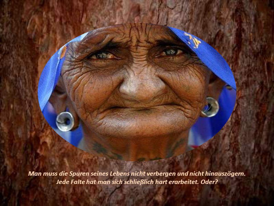 Das Alter ist und bleibt ein großes Geschenk des Lebens! Freuen wir uns darüber..