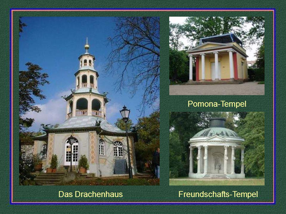 Das Drachenhaus Pomona-Tempel Freundschafts-Tempel