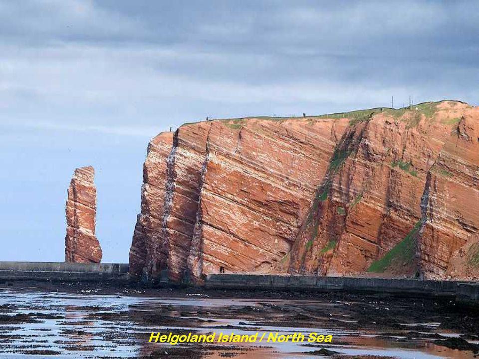 Helgoland Island / North Sea