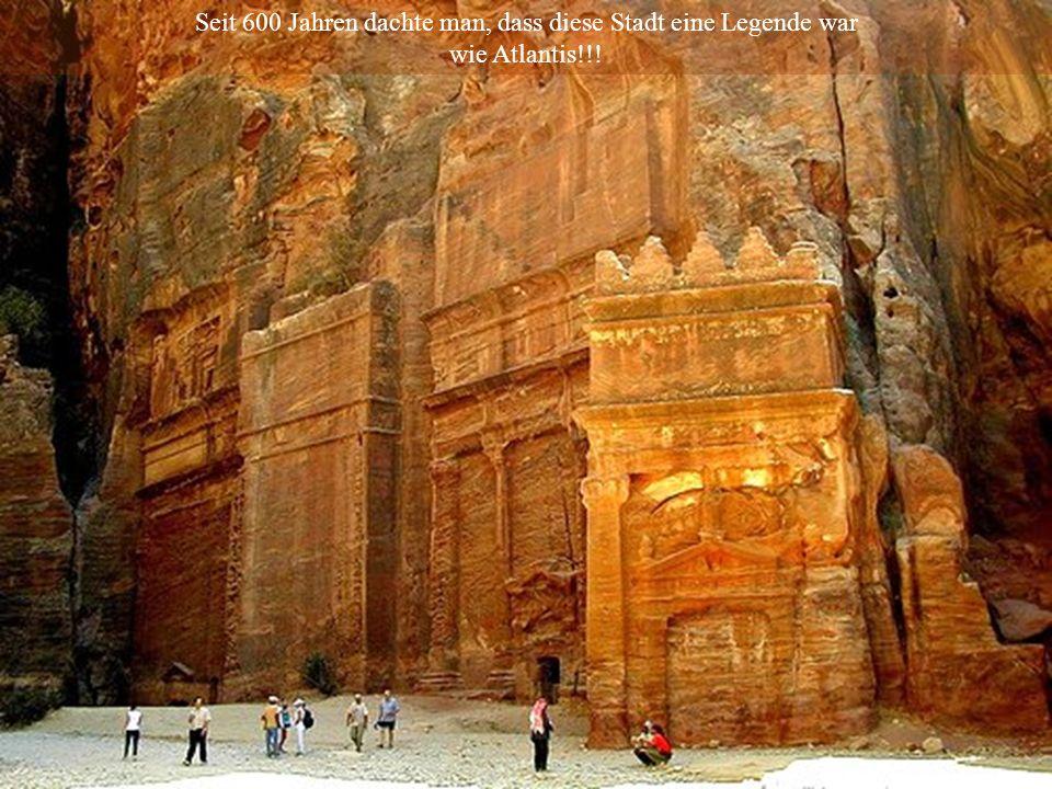 Seit 600 Jahren dachte man, dass diese Stadt eine Legende war wie Atlantis!!!