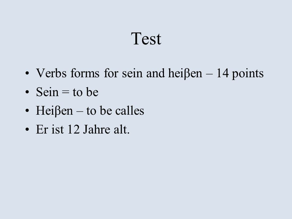 Test Wordbank with missing words in a dialogue – 5 points and 6 points Ich _____________ Lukas.