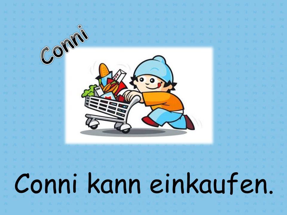Conni kann einkaufen.