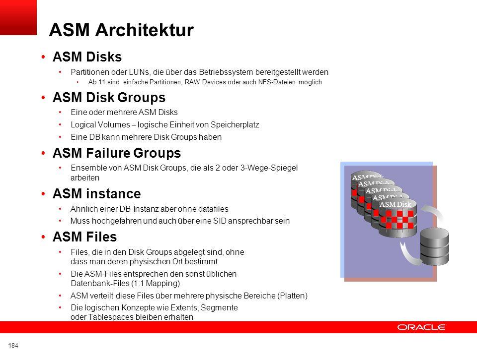 Click to edit title Click to edit Master text styles Insert Picture Here ASM Verwalten ganzer Gruppen von Platten Keine Einzelaktionen DBA übernimmt d