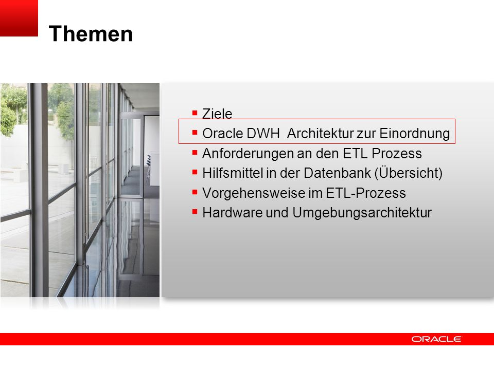Click to edit title Click to edit Master text styles Insert Picture Here Parallelisierung 46 Oracle Data Warehouse
