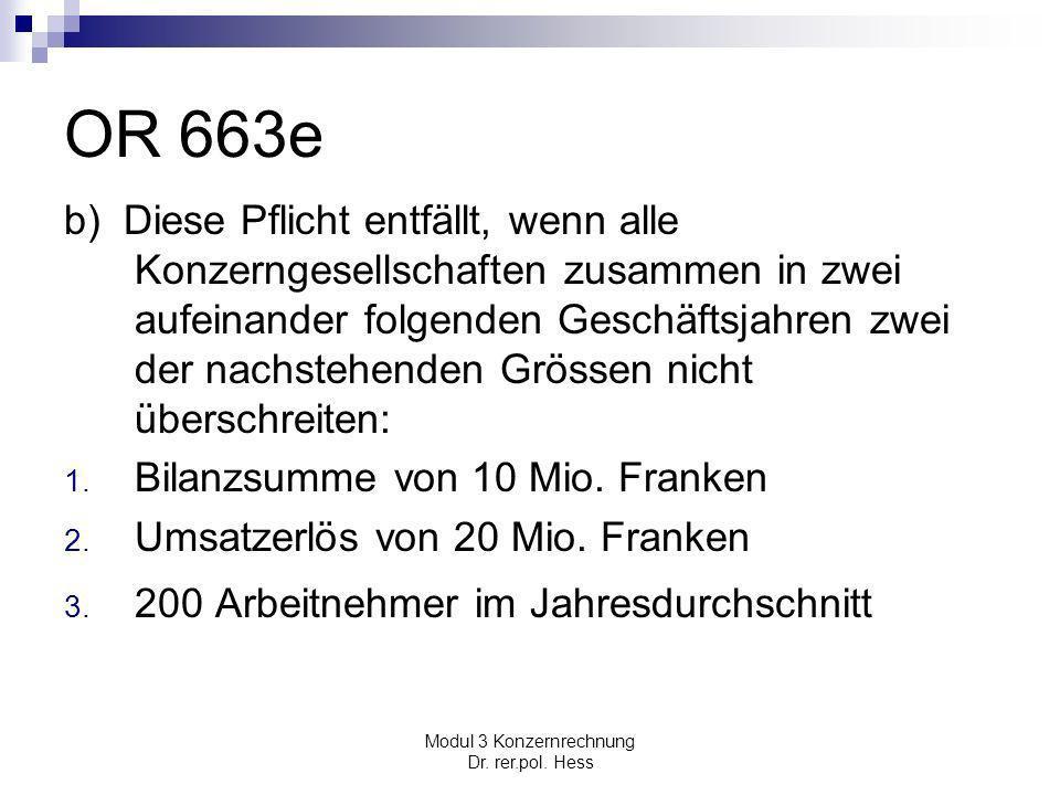 Modul 3 Konzernrechnung Dr.rer.pol.