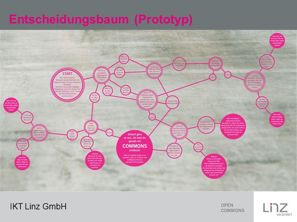 IKT Linz GmbH Entscheidungsbaum (Prototyp)