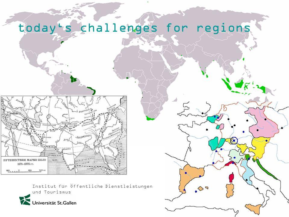 Institut für Öffentliche Dienstleistungen und Tourismus todays challenges for regions