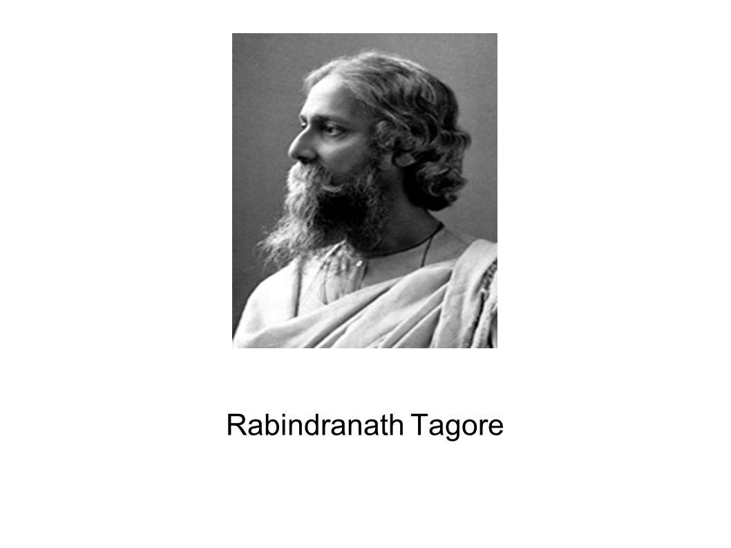 Jung Tagore Geboren 1861 in Kalkutta, Indien Sein Vater formulierte die Glaubenssätze des Brahmo (eine religiöse Bewegung) Beeinflusst von seiner Familie Hat sein erstes Gedicht geschrieben als er acht Jahre alt war Beendete die traditionelle Schulung als er vierzehn war.
