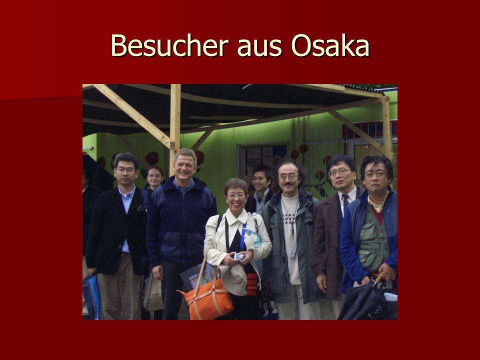 Besucher aus Osaka