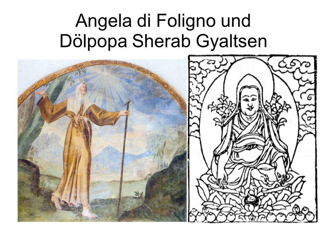 Angela di Foligno und Dölpopa Sherab Gyaltsen