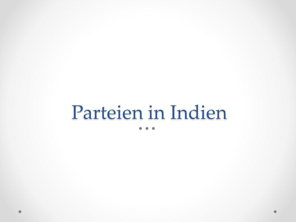 Parteien in Indien