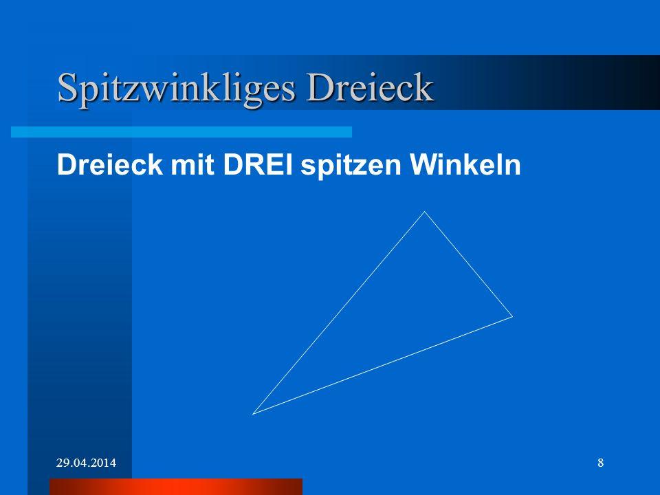 29.04.20147 Rechtwinkliges Dreieck Dreieck mit einem rechten Winkel