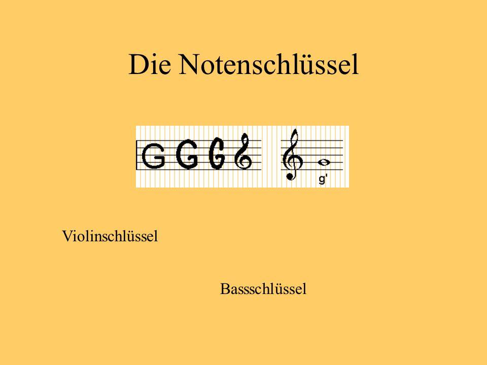 Die Notennamen c f g a h c d e Welches Notenpaar ist richtig?
