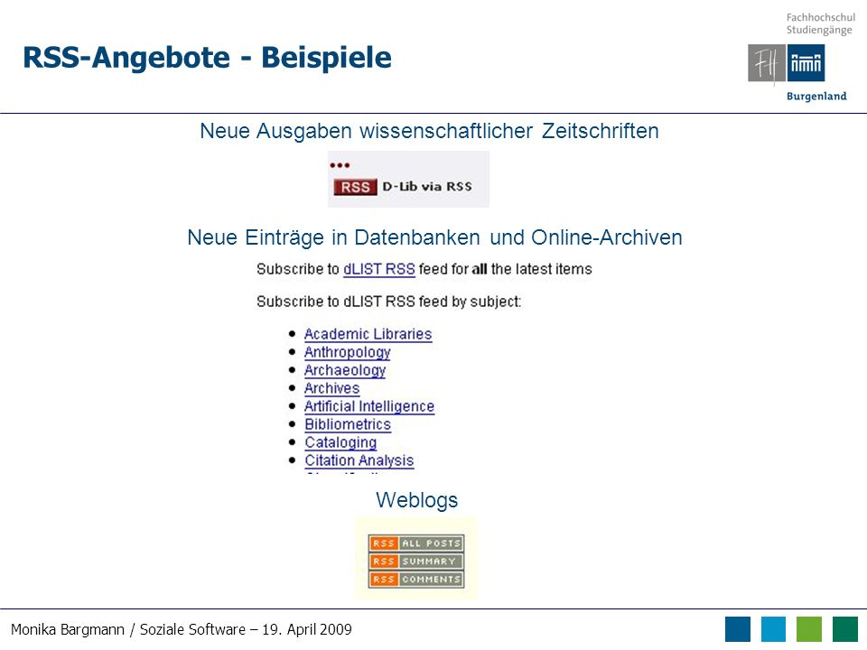 Monika Bargmann / Soziale Software – 19.