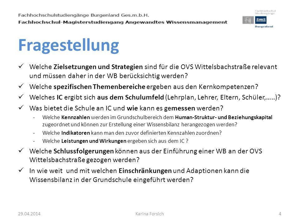 Welche Zielsetzungen und Strategien sind für die OVS Wittelsbachstraße relevant und müssen daher in der WB berücksichtig werden? Welche spezifischen T