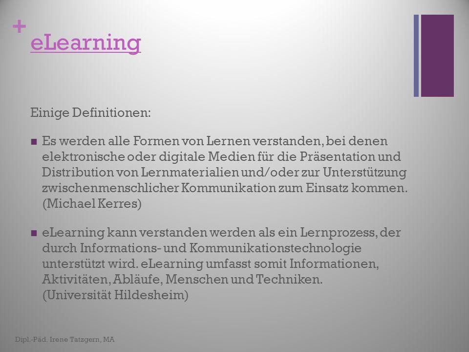 +... eine praktische Einführung Dipl.-Päd. Irene Tatzgern, MA Nach der Theorie folgt nun...