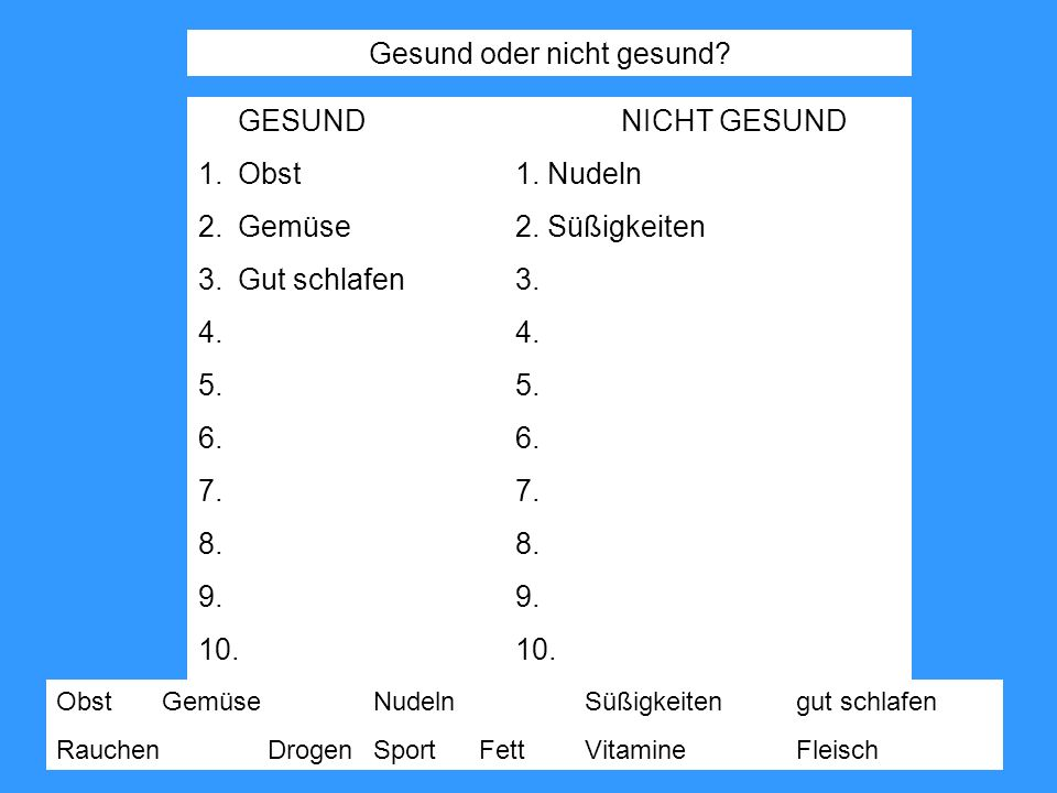 Wie sagt man auf Deutsch....