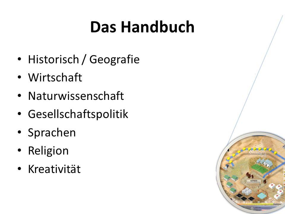 Das Handbuch Historisch / Geografie Wirtschaft Naturwissenschaft Gesellschaftspolitik Sprachen Religion Kreativität