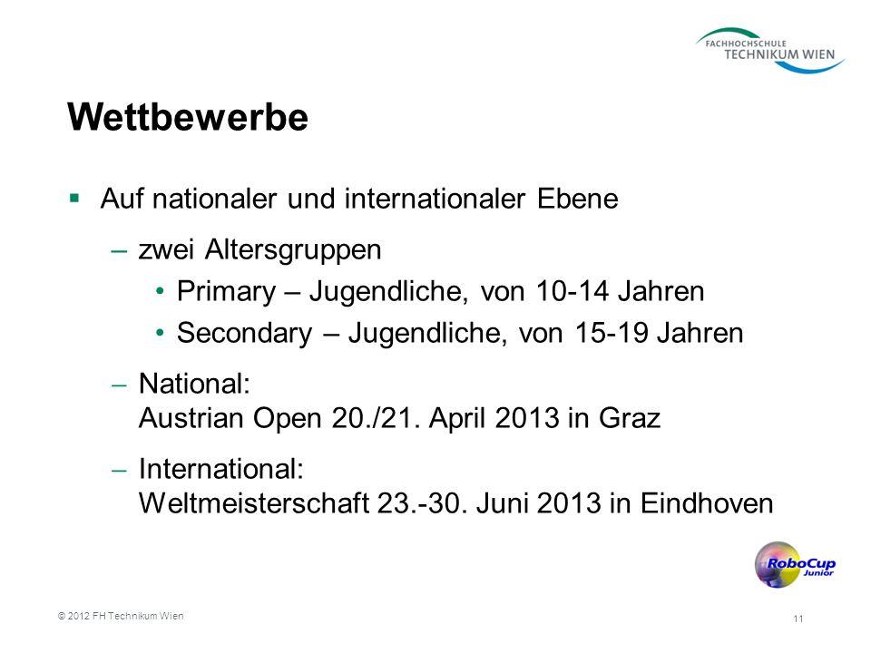 Wettbewerbe Auf nationaler und internationaler Ebene –zwei Altersgruppen Primary – Jugendliche, von 10-14 Jahren Secondary – Jugendliche, von 15-19 Jahren National: Austrian Open 20./21.