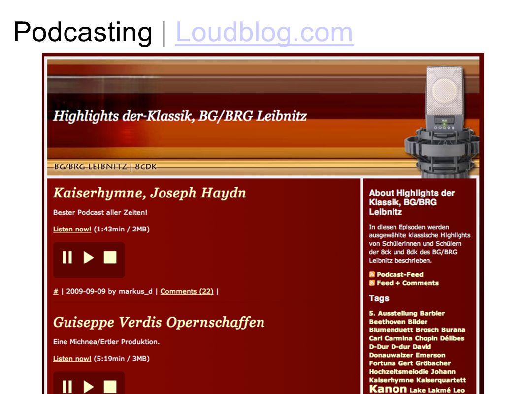 Podcasting | Loudblog.comLoudblog.com