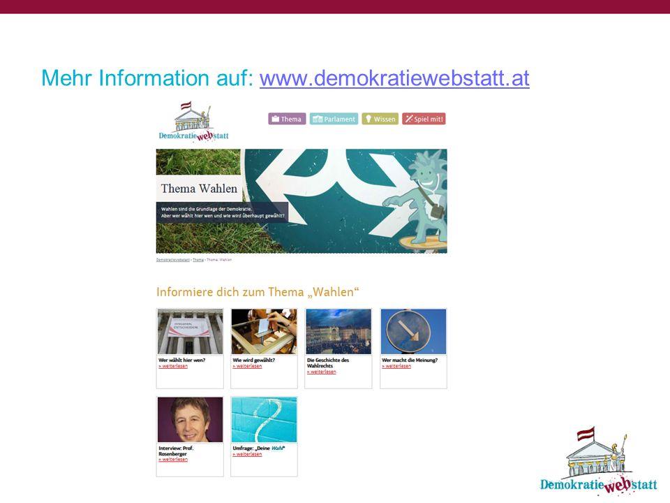 Am 29.September 2013 finden in Österreich Nationalratswahlen statt.